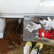 洗濯排水のあふれ修理・・・千葉市