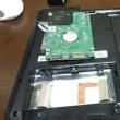 FUJITSU・ノートパソコン・LIFEBOOK ハードディスク・HDDの故障と分解修理
