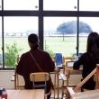 竹島に舞い降りた織姫たち