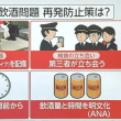 AIRLINES SUBMIT REPORTS ON PILOT DRINKINGパイロット飲酒問題 再発防止策を提出