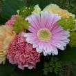 母の日の花束♥(๑´ლ`๑)フフ♡ウレシイ