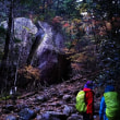 2座目瑞牆山は雨で途中敗退