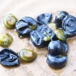 アオツヅラフジの種子、スイカズラの種子、ヘクソカズラの種子