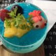 金魚カフェにて金魚鉢ゼリー&金魚ソーダ