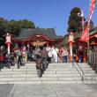 扇森稲荷神社にお参りしてきました。