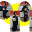 新富文化会館で、新春の「初舞会」