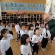 年少組☆エンジェルクラスさんと制作交流&英語教室