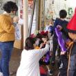 みんなのマルシェ星の風では、ハロウィンのイベントをやっています!
