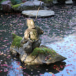 高崎市「徳明園」の紅葉
