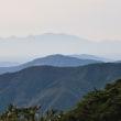 幻想的な南九州の山々のシルエット   (Photo No.14169)