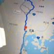 廃線の三江線 天空の宇都井駅を見上げて