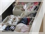 子供服の整理&イケアの仕切り収納