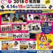 「韓国フェスティバル 2018 in  名古屋」のポスター