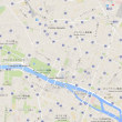 大韓航空機に乗ってマラガへ(3)パリ市内を歩く