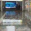 雨の博多駅