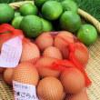 oneboke みちこ今日の庭の カサブランカ と ゆで卵
