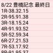 🚴 8/22 豊橋記念 ④