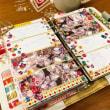 [バイブルサイズ手帳]11月のウィークリーデコ no.3 見て楽しむ手帳づくり