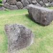 金沢城公園 石垣巡り‐12 いもり堀付近 石展示場②