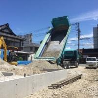 お弁当屋さん新築工事(その1)