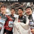 男子400リレー、日本は銅 陸上世界選手権