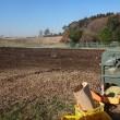 農業実践教室第23期:大豆の脱穀完了