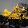 兼六園の冬のライトアップ