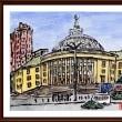 ベラルーシ・ウクライナ・モルドバ旅行シリーズ (26)キエフ市内の建物2