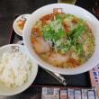 昼ごはんは、ピリ辛香ばし塩ラーメン@喜多方坂内ラーメン 18年4月