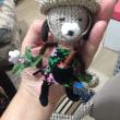 編みぐるみ 犬の庭師