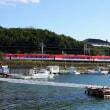 ほどなく賢島到着の 特急列車