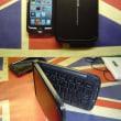iPod touch用に折りたたみ式携帯キーボードを買いました