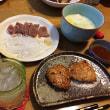 カツ煮定食とオリオン ビアナッツ!