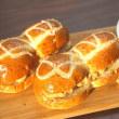 横浜 かもめパン 深煎りピーナッツクリームパンです ♪