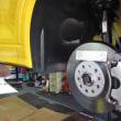 AUDI Q2 ローダストパッドの交換。