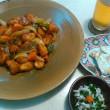 【食】アカメフグの酢フグ・中骨の塩焼き