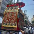 祇園祭・前祭・山鉾巡行の朝の鉾町