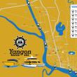 公共交通「ヤンゴン水上バス」、12カ所に船着場を新設。