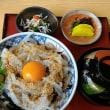 新春初イカ丼と碧い海