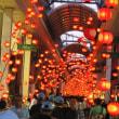 <山口ちょうちんまつり> 中心商店街に幻想的な光のトンネル