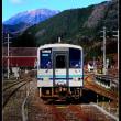 三瓶山の見える駅…JR浜原駅
