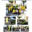 松原市で自転車安全街頭キャンペーン!!