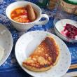 朝食に特製トマトスープ♪