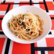 電子レンジで作るスパゲッティ