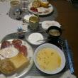 NH で行ってまいります✈(食べきり夕朝食 と 雲に妄想♪)