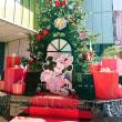 超早っ!渋谷ヒカリエのクリスマスツリー(@_@;)