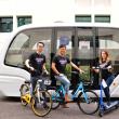 シンガポールの南洋工科大学は、自律走行型輸送システムを運用。