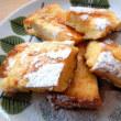 赤大根のピクルスとフレンチトースト