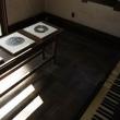 若月陽子さんの木口木版雁皮刷りと古いピアノとの共演