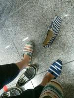 しまむらで夏らしい靴を選ぶ…